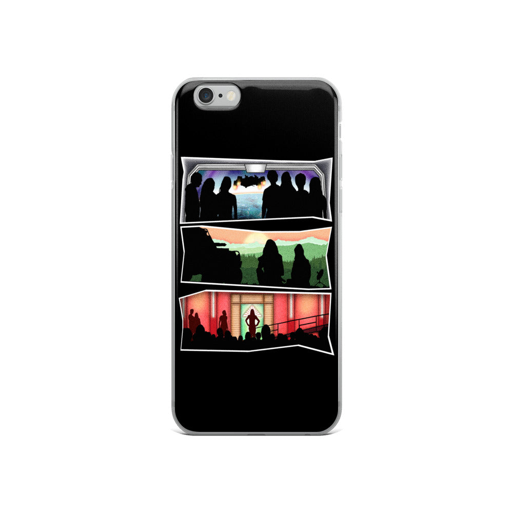 No Heroes, Just Survivors iPhone Cases