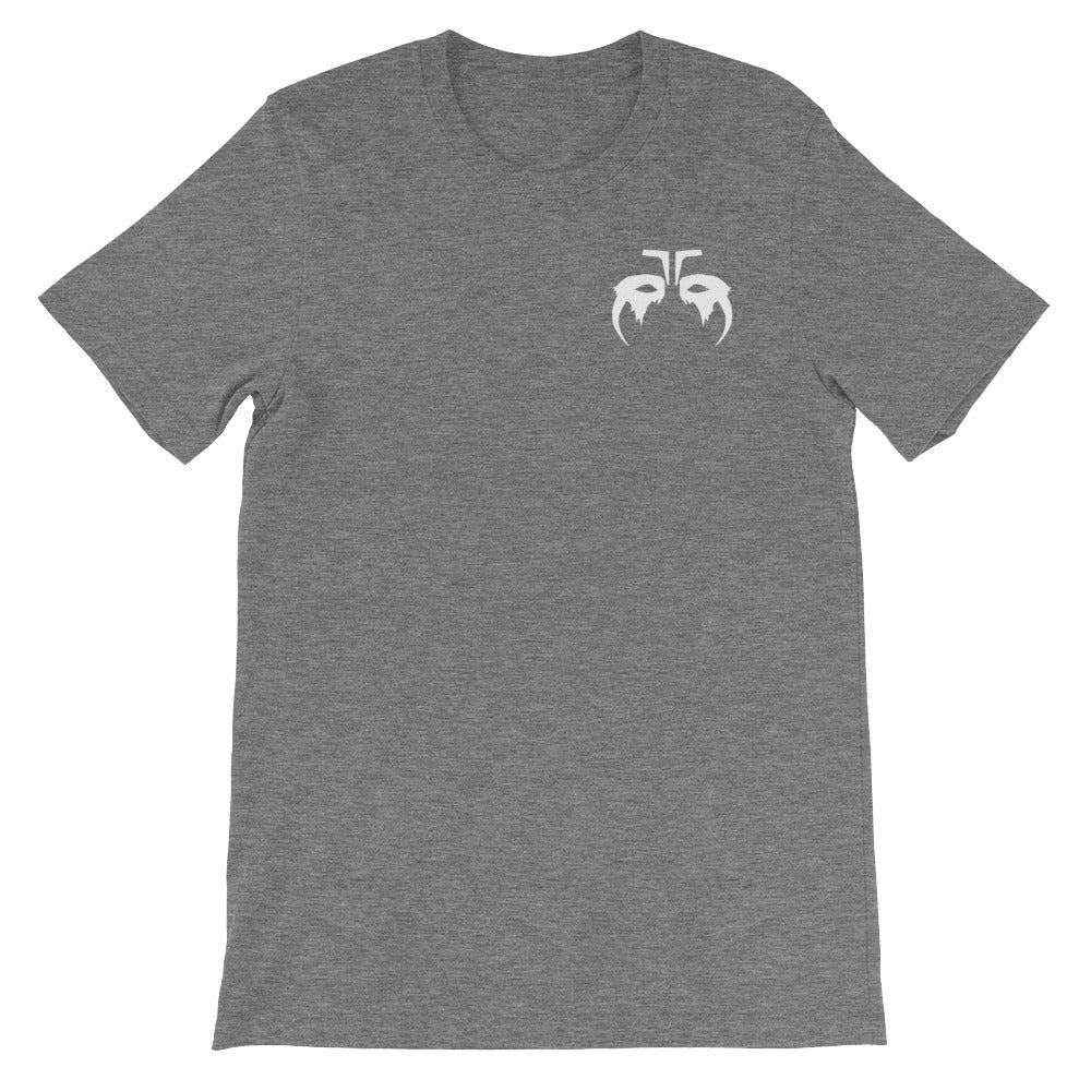 White Octavia Skairipa War Paint Gray T-Shirt