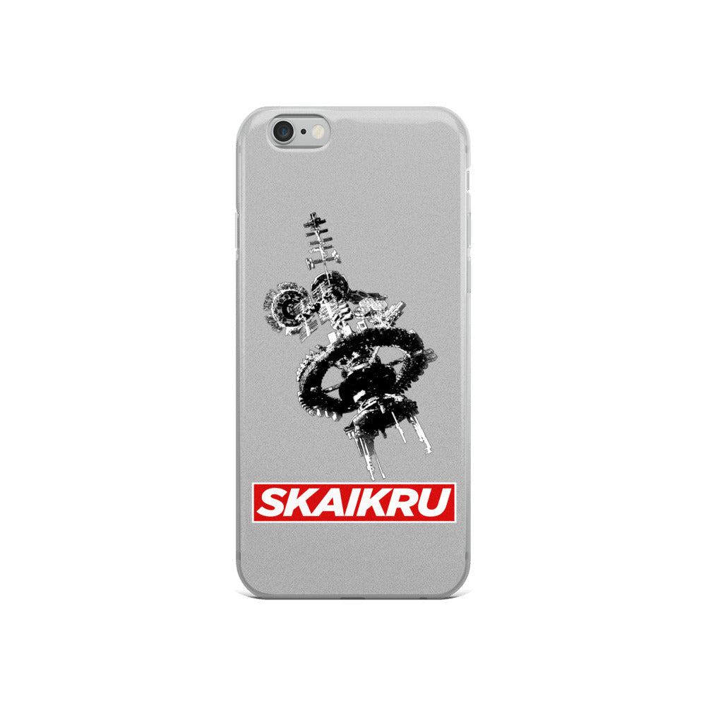 Skaikru Gray & Red iPhone 6s Case