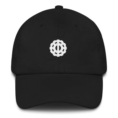 White Heda Symbol Hat Black