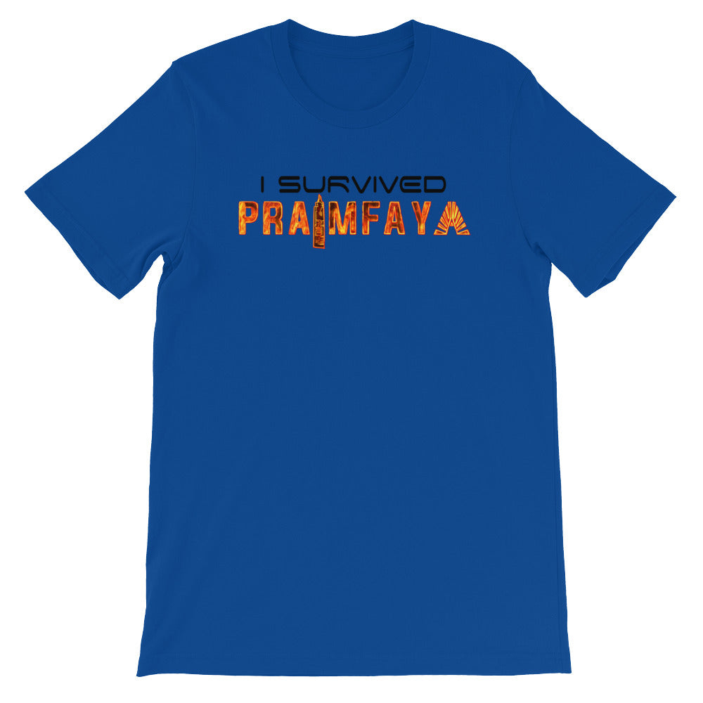 I Survived Praimfaya T-Shirt Blue