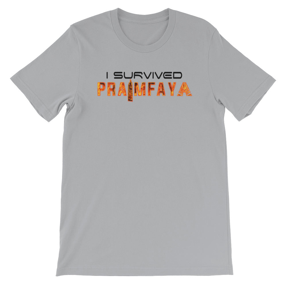 I Survived Praimfaya T-Shirt Silver