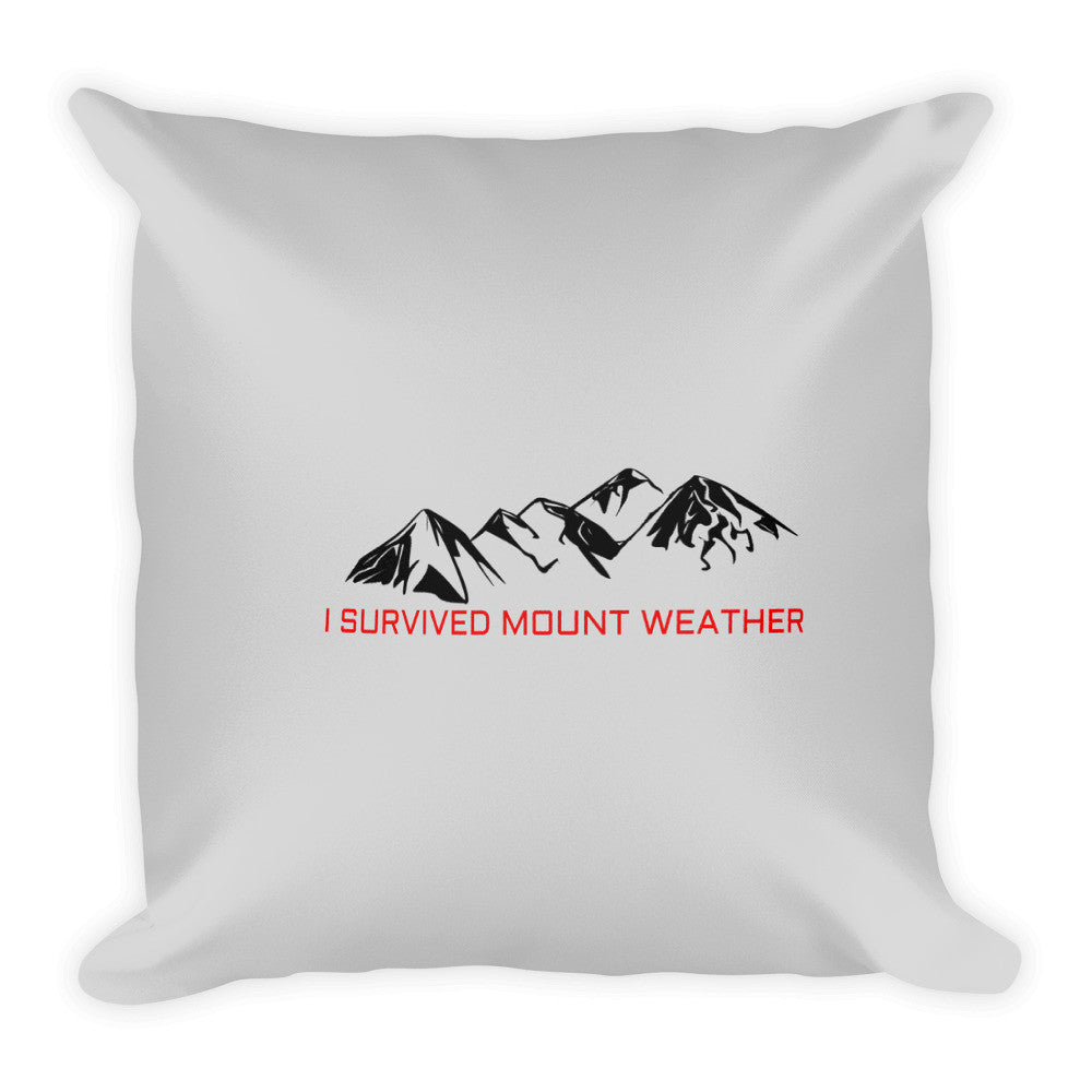 I Survived Mount Weather Pillow