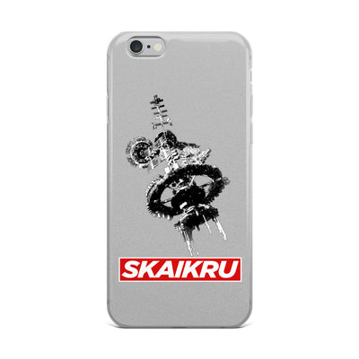 Skaikru Gray & Red iPhone 6 Case