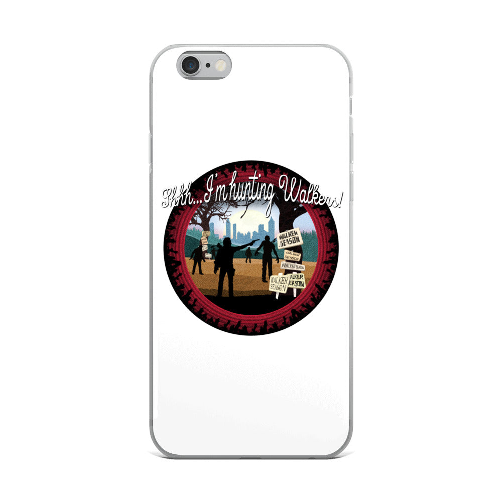 The Walking Dead Hunting Walkers iPhone 6 Case