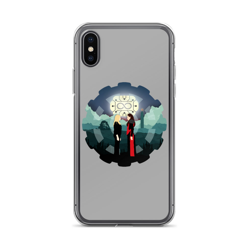 Clexa iPhone X Case