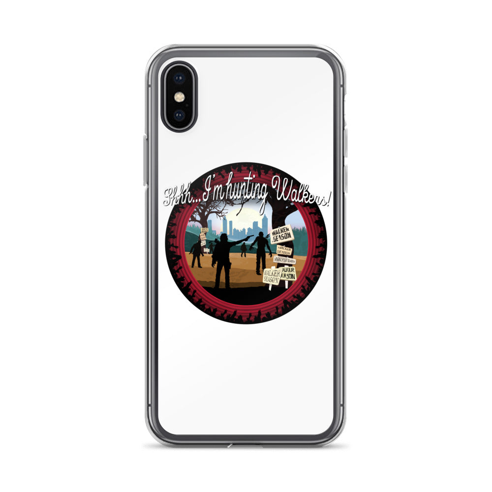 The Walking Dead Hunting Walkers iPhone X Case