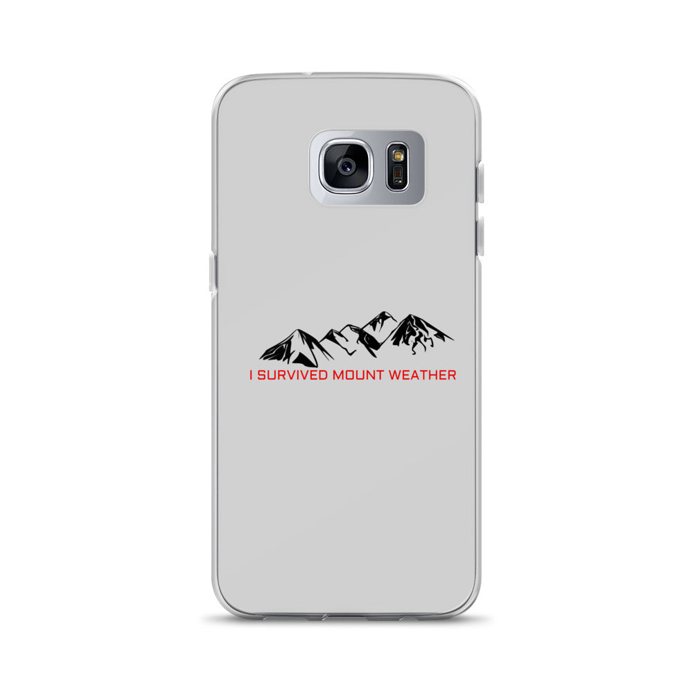 I Survived Mount Weather Samsung Cases