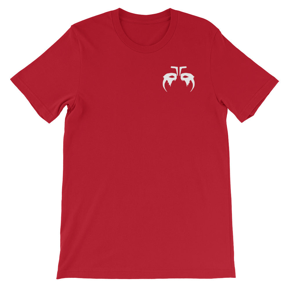 White Octavia Skairipa War Paint Red T-Shirt