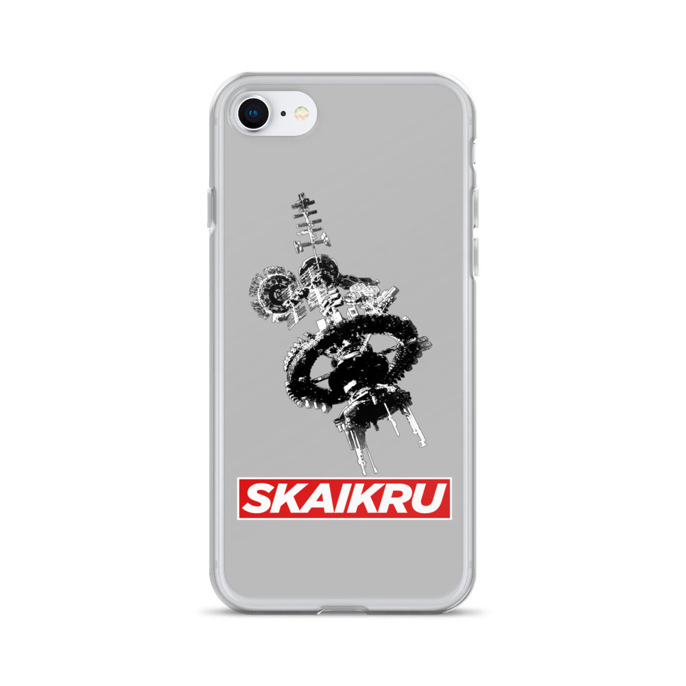 Skaikru Gray & Red iPhone 7/8 Case