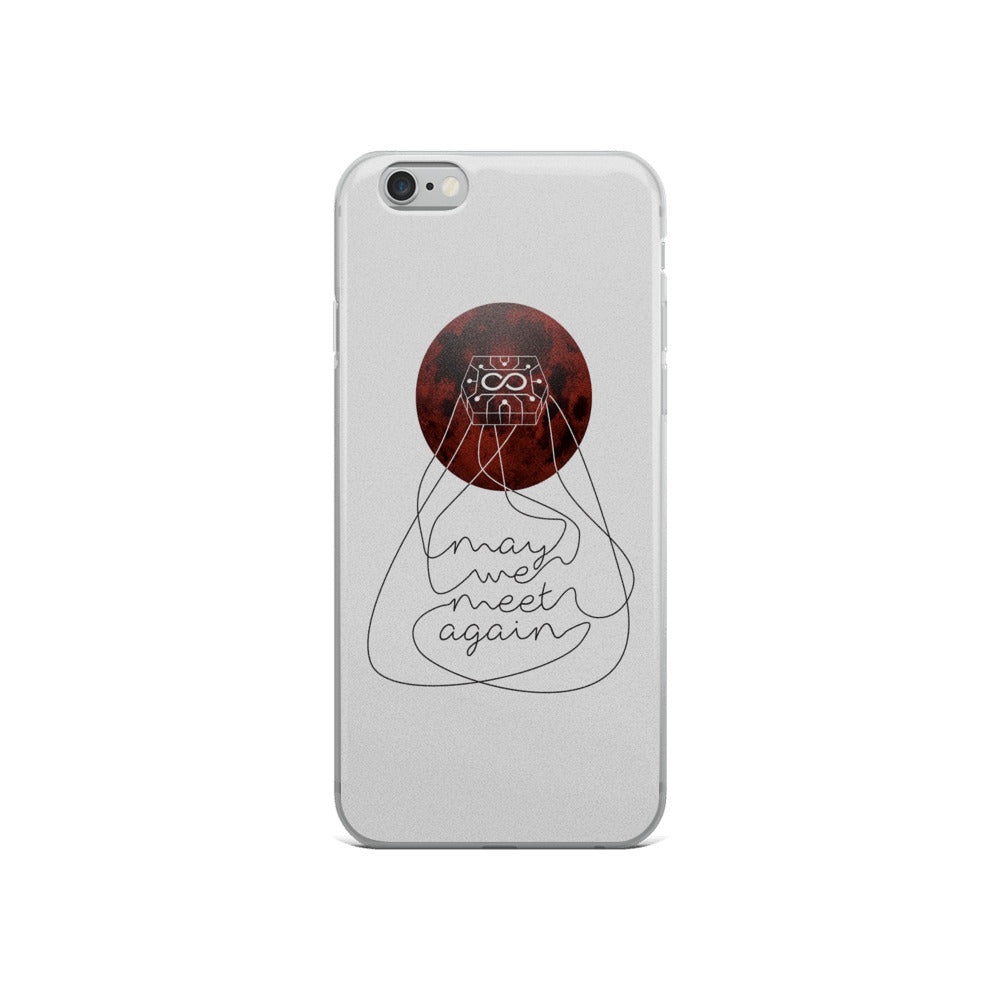 May We Meet Again Gray iPhone 6s Case