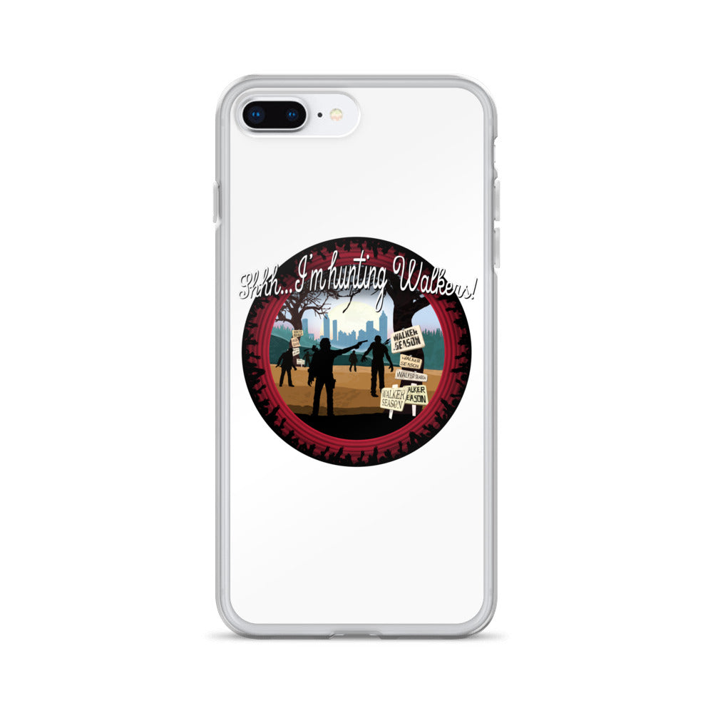The Walking Dead Hunting Walkers iPhone 7/8 Case
