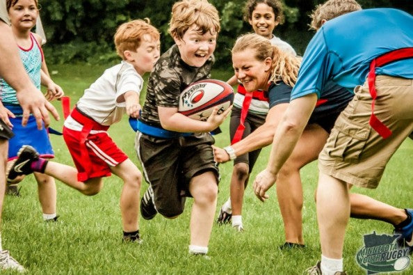 Parents rugby your kids right now!