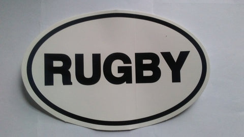 Rugby 'country' Oval Stickers