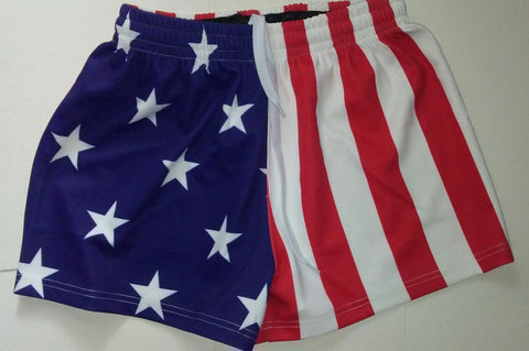 USA FLAG Premium Rugby Shorts FLASH SALE!