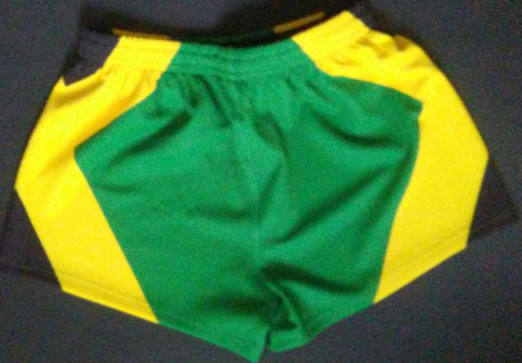 JAMAICA FLAG Premium Rugby Shorts- 19.95 FLASH SALE