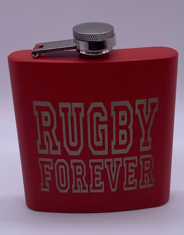 Premium RUGBY FOREVER Wine bottle / flask