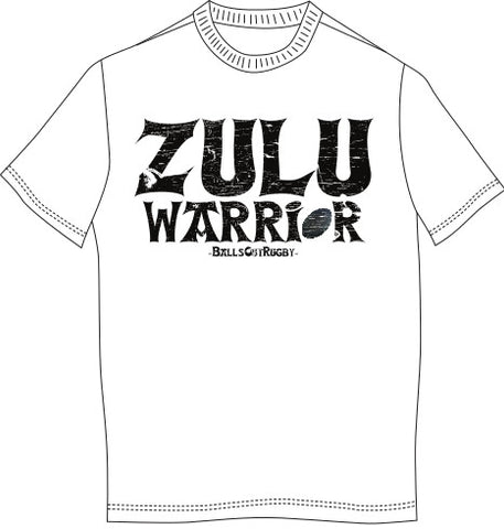 INTRO PRICE ! ZULU WARRIOR RUGBY T