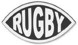 Rugby Car Decal