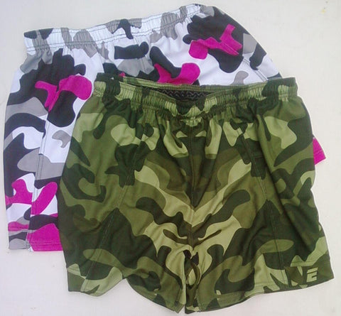 Enduro Camouflage Premium Professional Rugby Shorts