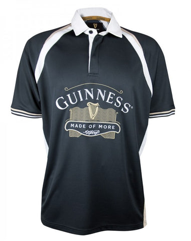 SALE! GUINNESS Black Made of More Rugby Jersey