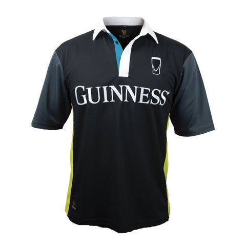 Guinness® Black and Yellow Stripe Rugby Jersey