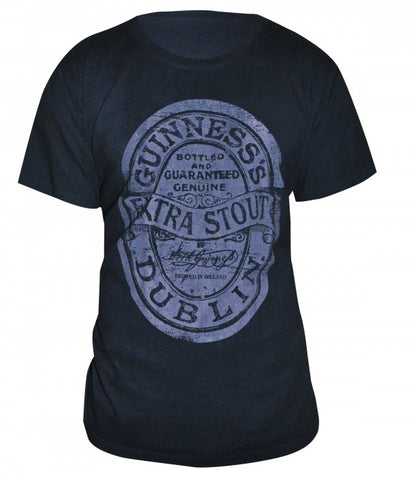 Guinness® Distressed Label Tee