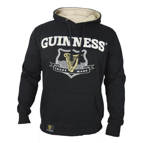 Guinness Signature Black Hooded Sweatshirt