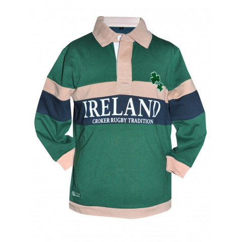 Croker Kids Traditional Rugby Jersey