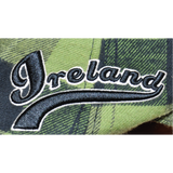 Retro Ireland Plaid Ivy Hat