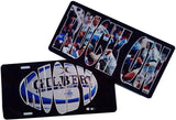Full color Rugby License Plates