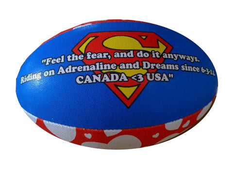One Of a Kind Rugby Ball