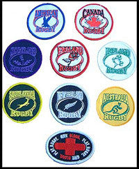Rugby Patches