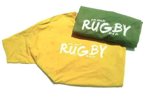 PROUD RUGBY DAD T