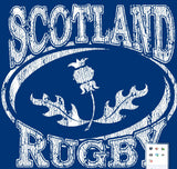 Scotland Distressed T-shirt