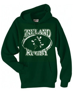 Ireland Rugby Hooded Sweatshirt
