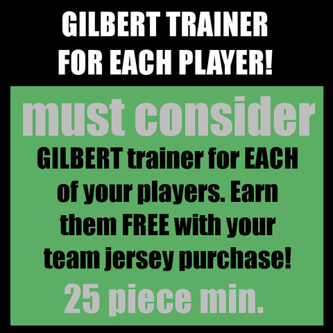 TEAM - GILBERT trainer per player