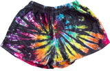 "Tie-dye Rugby Shorts TWO COLOR [2"" & 4""]"