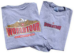 Ugly American World Tour T-shirt - S/S & L/S