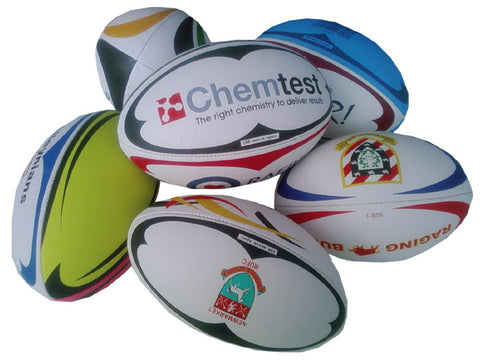 SALE 'Ugly' Rugby Balls SIZE 3/4/5