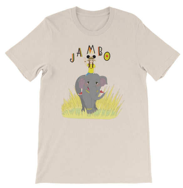 Jambo Brunette Babes Tee and Tank