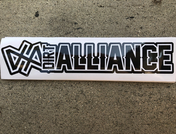 Dirt Alliance Slap Sticker