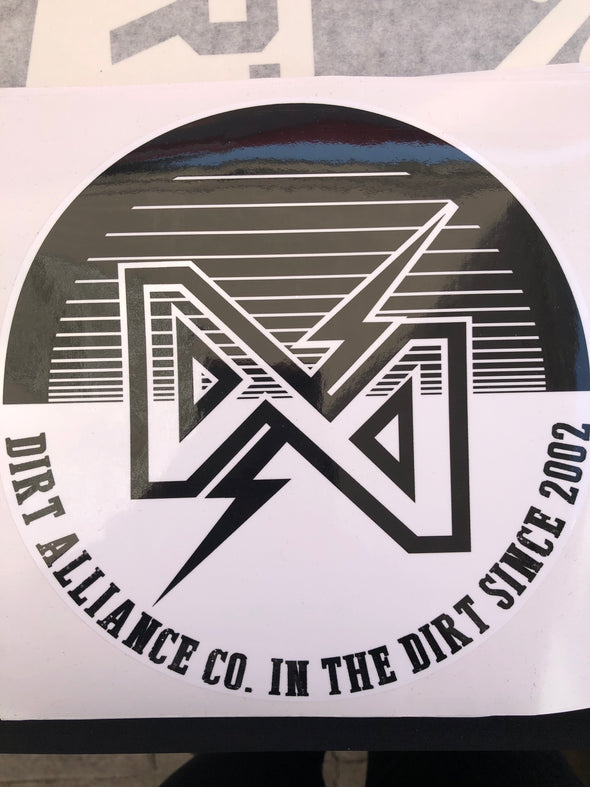 Dirt Alliance Spool Large Sticker