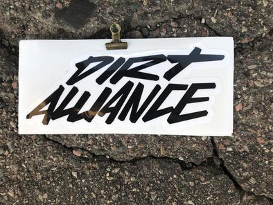 Dirt Alliance Scribble Slap Sticker