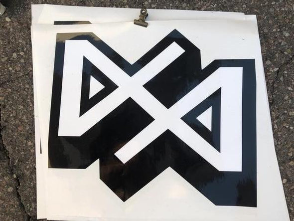 "Dirt Alliance Geometric Slap 12"" Sticker"