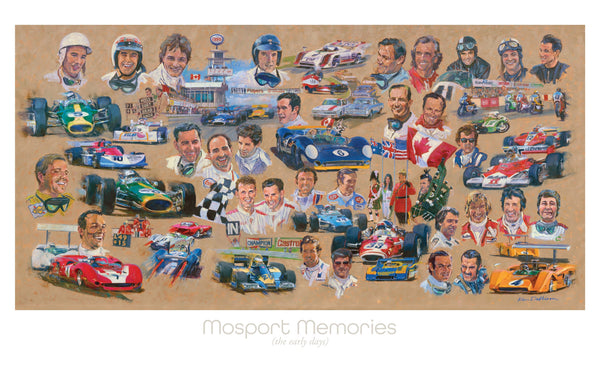 Mosport Memories Print (Signed by artist)