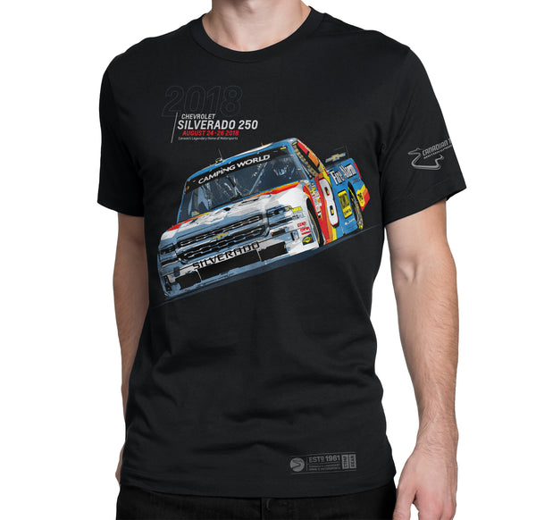 2018 Chevrolet Silverado 250 Event T-shirt
