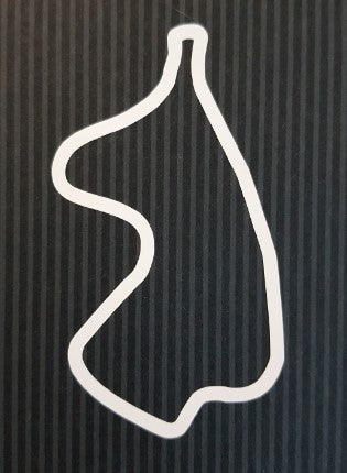 Track Outline Sticker - GP Circuit