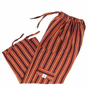 (Small) Orangey Brown Lounge Pants 0009