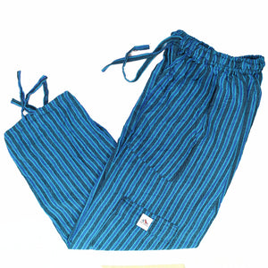 (Medium) Bluish Bluey with Extra Blue Lounge Pants 0028